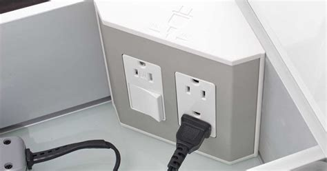 Bathroom Drawer Outlet In The Drawer Electrical Outlets For Bathroom Drawers