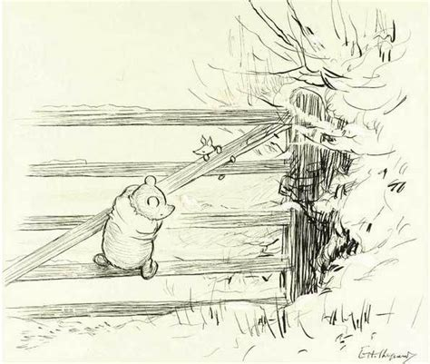 E H Shepard Sketches by 17 Best Images About Classic Winnie The Pooh Friends On