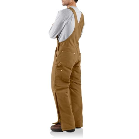 Carhartt Quilt Lined Duck Coveralls by Carhartt R03 Arctic Quilt Lined Duck Bib Overalls