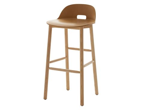Low Back Stool Chair by Alfi Low Back Stool Hivemodern