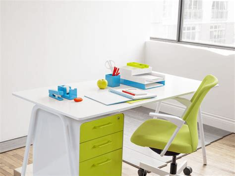 Office Supplies For Cubicles Poppin S Colourful Office Supplies Brighten Up Dreary