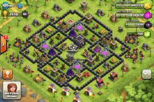 Town hall 9 trophy base