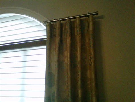 curtain rods for side panels drapery rod
