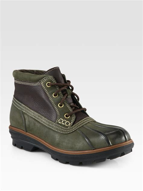 cole haan mens chukka boots cole haan air scout chukka boot in green for lyst