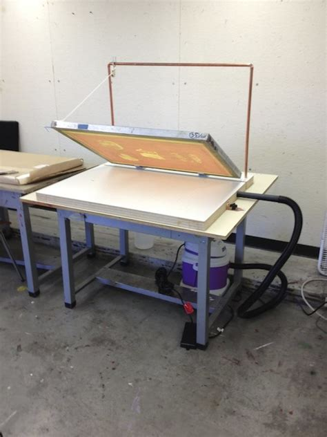 kevin haas news screenprint vacuum table mods