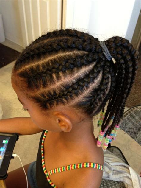 9 year old little girl hair braided witb weave apprenez 224 tresser vos princesses debbosenegal