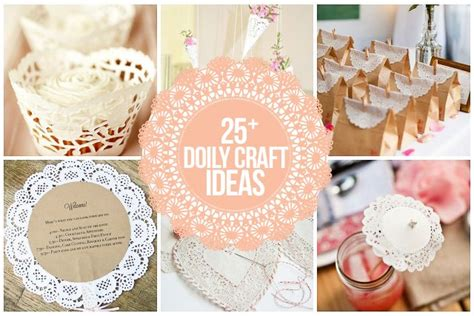Paper Doily Craft Ideas - 25 doily craft ideas that are truly inspirational