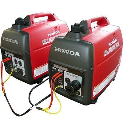 Honda Eu 2000 2000w Portable Generator Question Texags