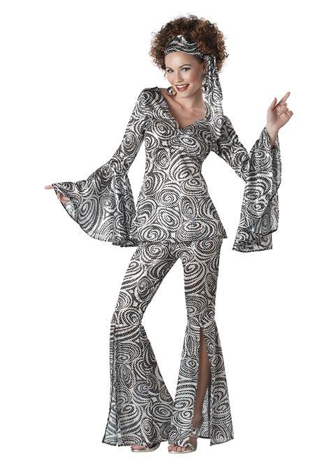 Foxy Lady Disco Costume Womens | plus size women s foxy lady disco costume