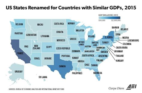 us states economy map map renames us states with country generating same