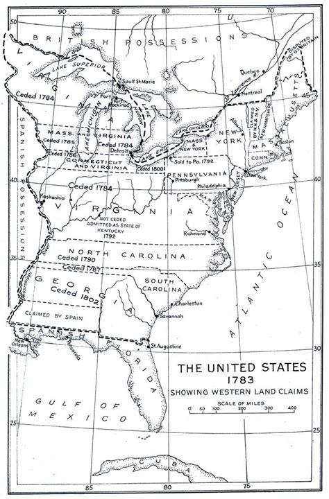 1783 map of the united states united states map 1783 heritage maps trees timelines