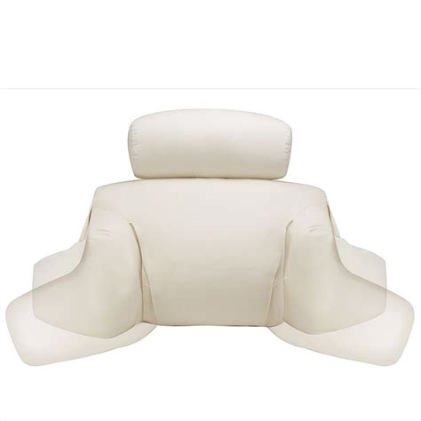 bed reading pillow bedlounge 174 pillow pillow headrest levenger