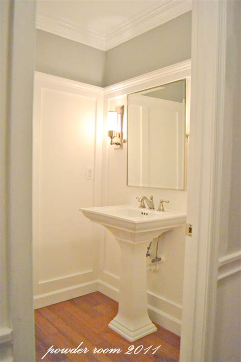powder room makeovers wow powder room before and after makeover diy show off
