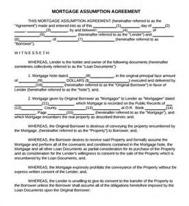 Mortgage Agreement Template sample mortgage agreement template 9 free documents in