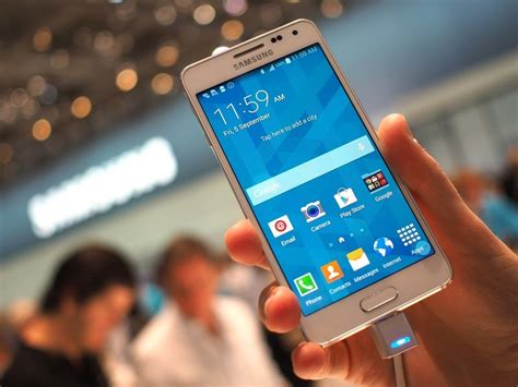 samsung galaxy alpha hands  android central