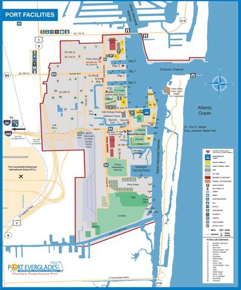 port everglades facilities map