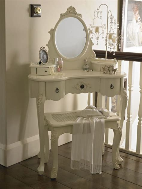 dressing table  mirror shabby french style vintage chic