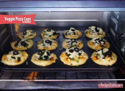 table veggie pizza recipe veggie pizza cups recipes table