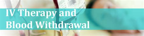 Iv Detox Therapy by Iv Therapy And Blood Withdrawal Educate Simplify Academy
