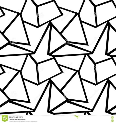 black triangle pattern vector seamless vector geometric pattern stock vector image