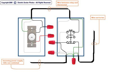 cadet wall thermostat wiring diagram cadet 240 volt