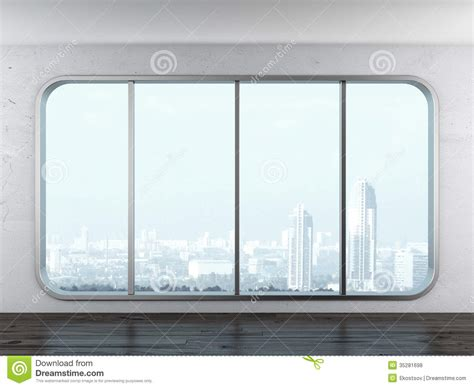 Modern Apartment Plans modern office window stock photo image of white loft