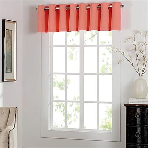 window toppers curtains newport grommet window curtain valance bed bath beyond