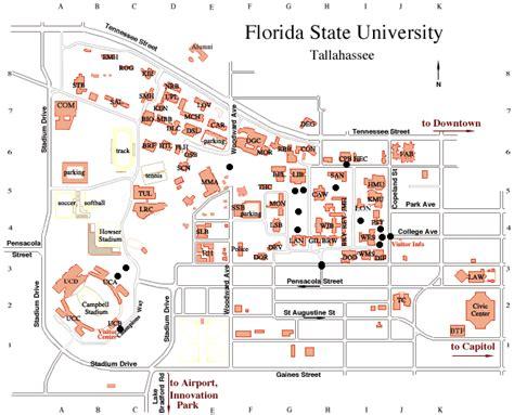 fsu map fsu s monuments and memorials