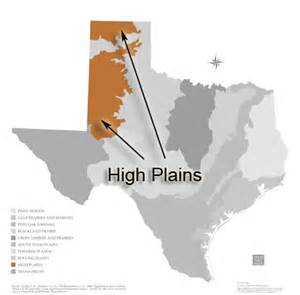 high plains map ecoregions parks wildlife department
