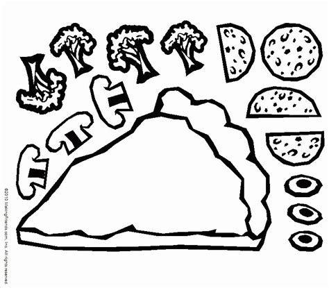 Pizza Coloring Pages For Childrens Printable For Free Childrens Coloring Pictures Printable Free L
