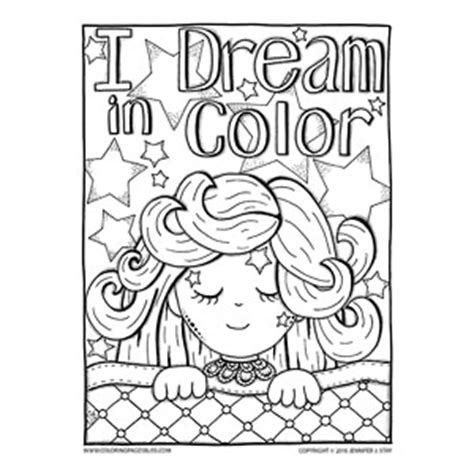 coloring pages bliss youtube cute sleeping girl coloring page