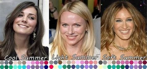 celebrity skin tones summer summer color analysis light delicate your personal