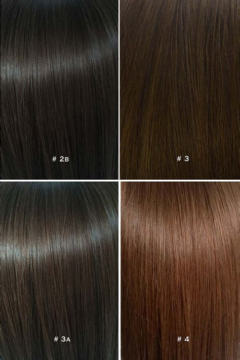 color hair extensions colour chart for hair extensions
