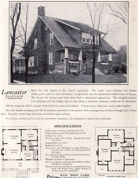 tiny house plan clipped gabled cottage aladdin kit bungalow craftsman house plans 1920s