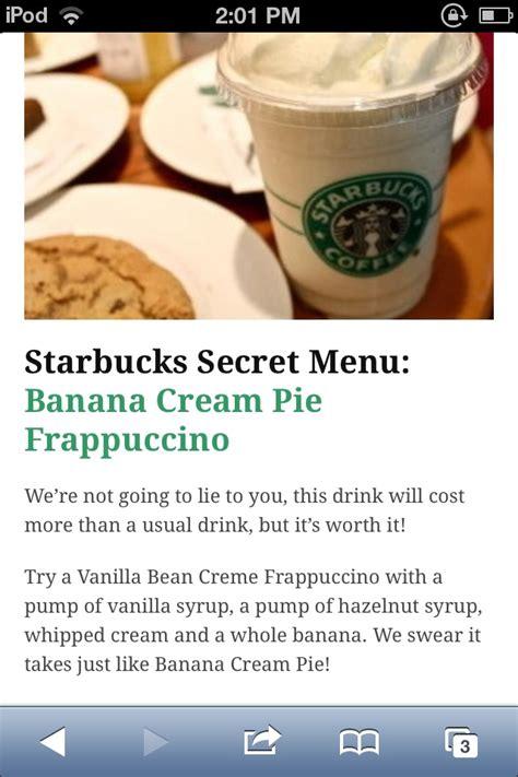 secret menu starbucks starbucks secret menu caffeine