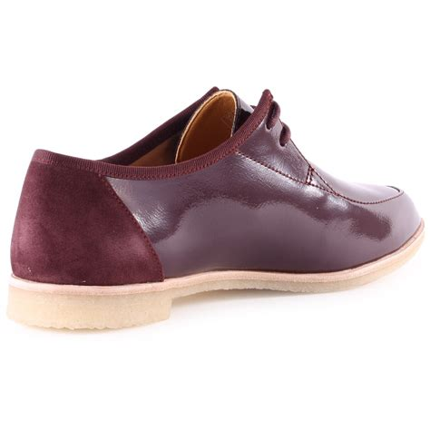 clarks originals phenia point womens shoes in wine