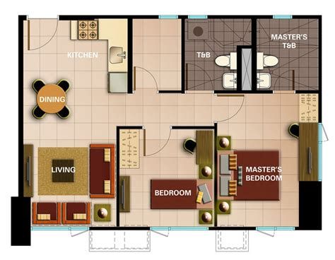2 bedroom unit floor plans avida towers intima designed for one s exclusive use pres