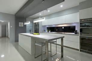 Island Bench Kitchen Designs Custom Home Design Using High Themal Insulation