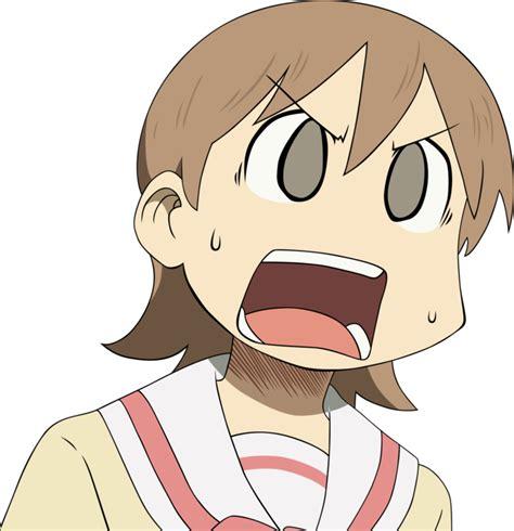 Anime Reaction Images by Nichijou Yukko By Graphicsmith On Deviantart