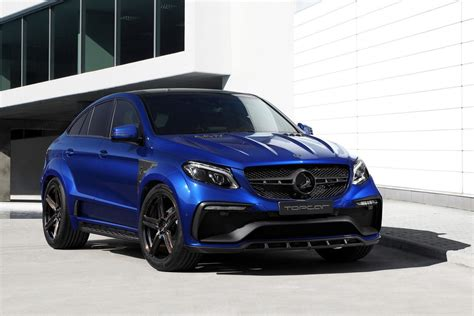 blue mercedes topcar dips inferno wearing mercedes gle coupe in blue