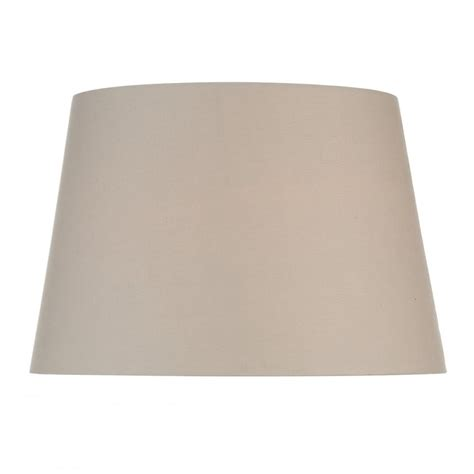 18 inch l shade dar lighting 18 inch tapered cream cotton shade lighting