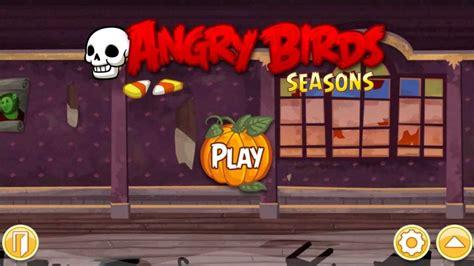 angry birds seasons new year theme haunted hogs theme hq angry birds seasons