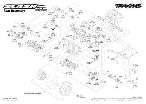 traxxas slash 4x4 parts diagram traxxas slash parts diagram platinum traxxas 4 tec parts