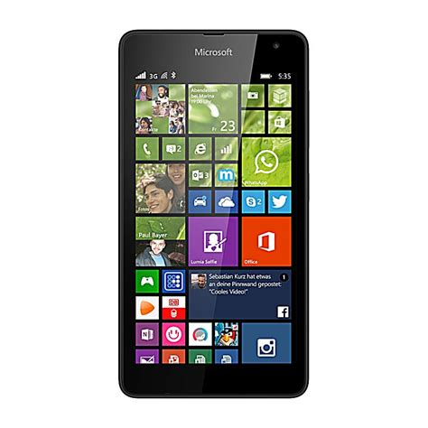 Microsoft Lumia 535 microsoft lumia 535 windows phone 8 1 bestellen weltbild at