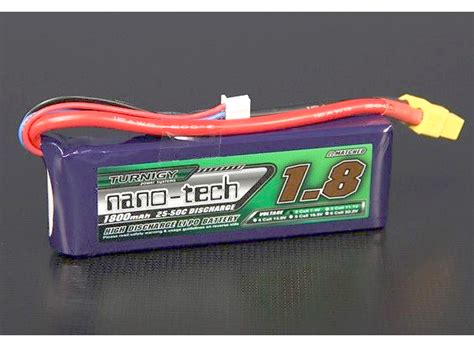 Battery Turnigy Nano Tech 1800mah 3s 25 50c Pecah 1 103x20x35mm turnigy nano tech 1800mah 2s 25 50c lipo pack