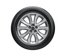 Car Tires Or Tyres Mazda 19 Inch Tire Picture Courtesy Mazda