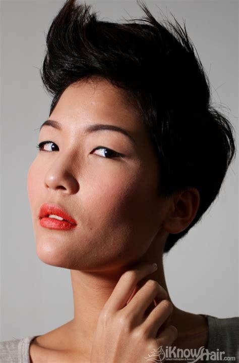 short  medium hair styles  asian women medium