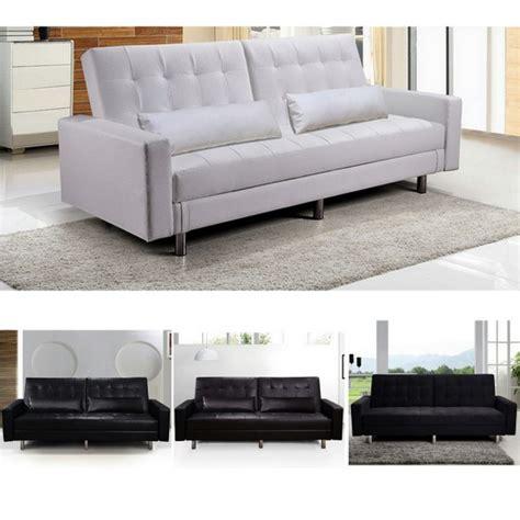 divani letto in ecopelle divano letto con vano contenitore in ecopelle o microfibra
