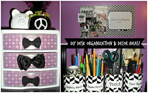 Decorate My Cubicle by Diy Desk Organization Amp Decor Ideas Youtube