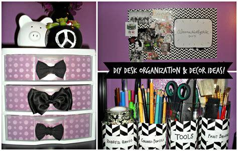 Girls Bedroom Decorating Ideas by Diy Desk Organization Amp Decor Ideas Youtube
